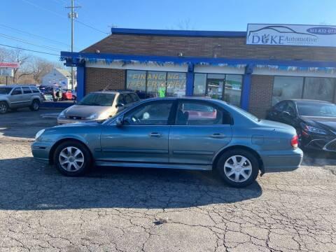 2005 Hyundai Sonata for sale at Duke Automotive Group in Cincinnati OH