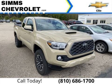 2020 Toyota Tacoma for sale at Aaron Adams @ Simms Chevrolet in Clio MI