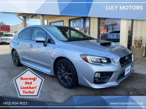 2015 Subaru WRX for sale at Luly Motors in Lincoln NE