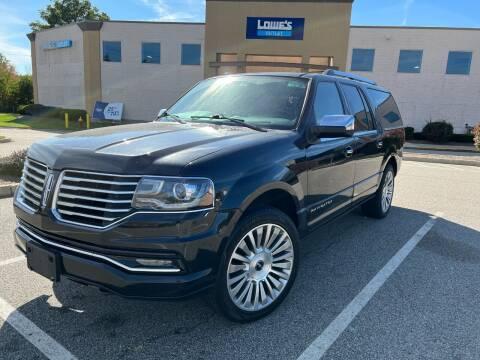 2017 Lincoln Navigator L for sale at Velocity Motors in Newton MA