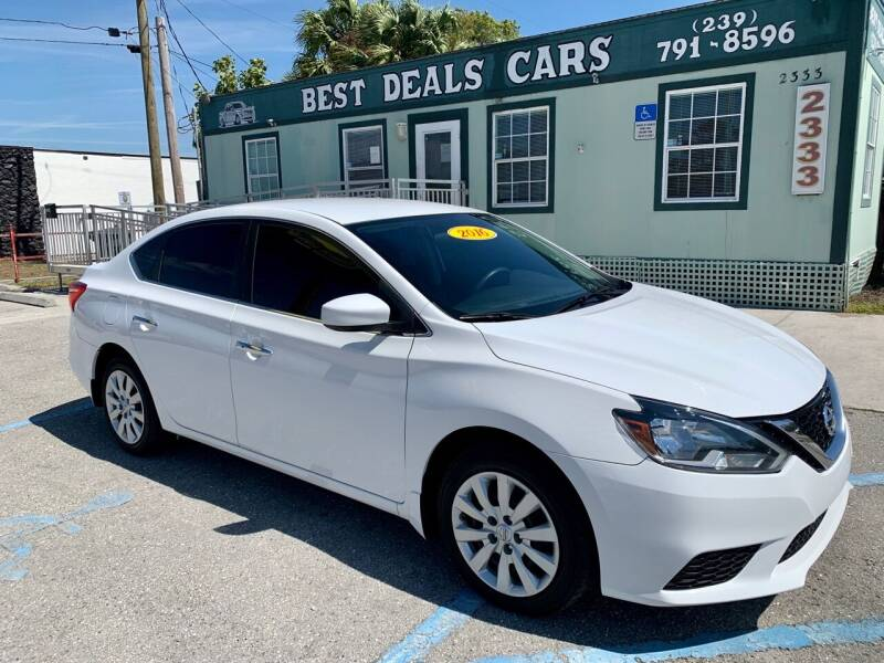 2016 Nissan Sentra for sale at Best Deals Cars Inc in Fort Myers FL