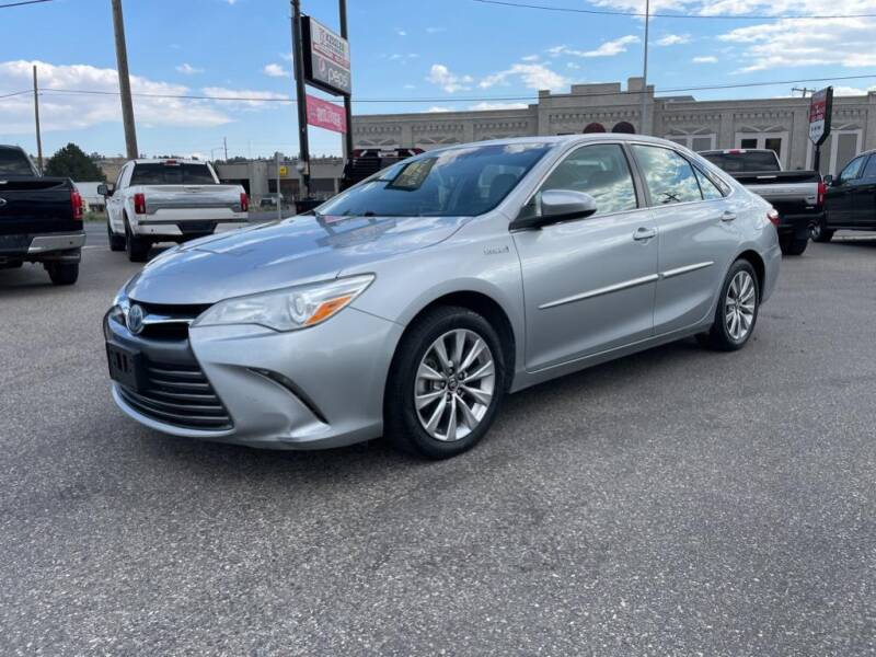 2016 Toyota Camry Hybrid for sale at Kessler Auto Brokers in Billings MT