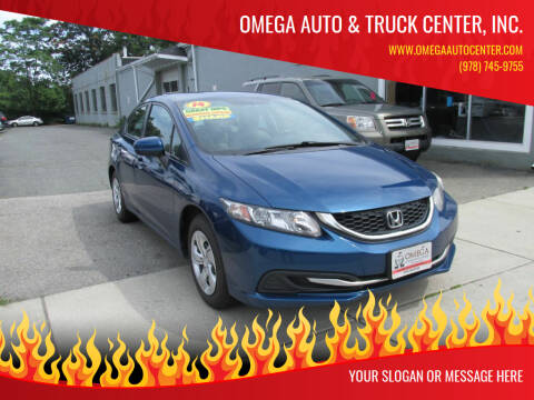 2014 Honda Civic for sale at Omega Auto & Truck Center, Inc. in Salem MA