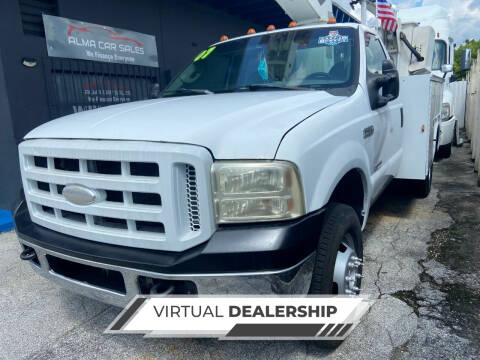 2007 Ford F-350 Super Duty for sale at Alma Car Sales in Miami FL