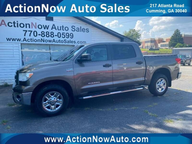 2011 Toyota Tundra for sale at ACTION NOW AUTO SALES in Cumming GA