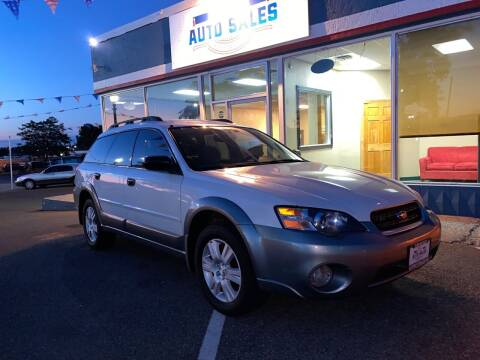 2005 Subaru Outback for sale at ELDER AUTO SALES LLC in Coeur D'Alene ID