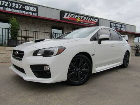 2015 Subaru WRX for sale at Lightning Motorsports in Grand Prairie TX