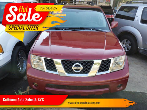2005 Nissan Pathfinder for sale at Coliseum Auto Sales & SVC in Charlotte NC