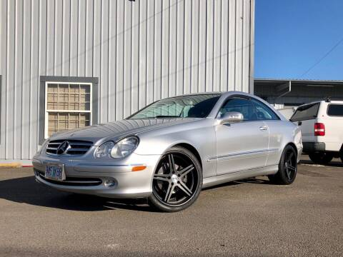 2005 Mercedes-Benz CLK for sale at DASH AUTO SALES LLC in Salem OR
