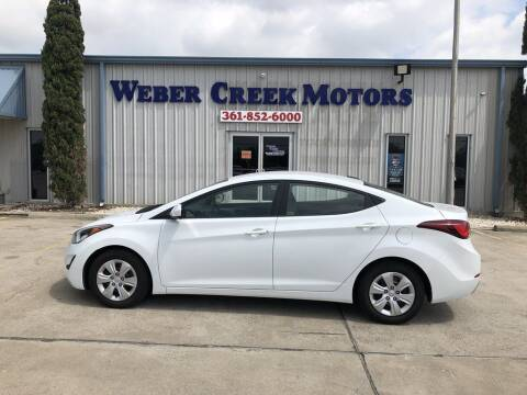 2016 Hyundai Elantra for sale at Weber Creek Motors in Corpus Christi TX