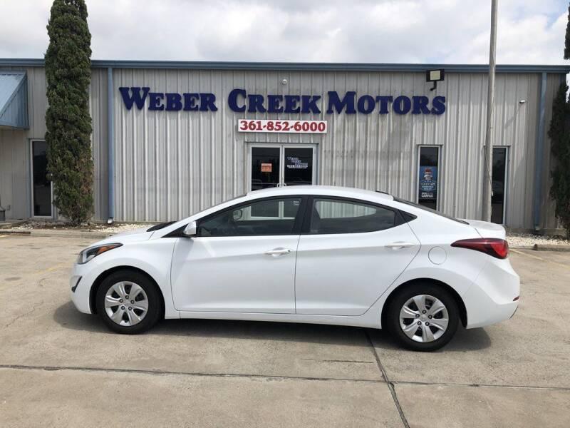 2016 Hyundai Elantra for sale at Weber Creek Motors in Corpus Christi TX