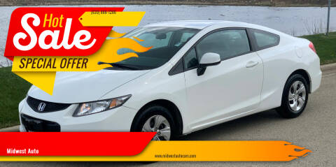 2013 Honda Civic for sale at Midwest Auto in Naperville IL
