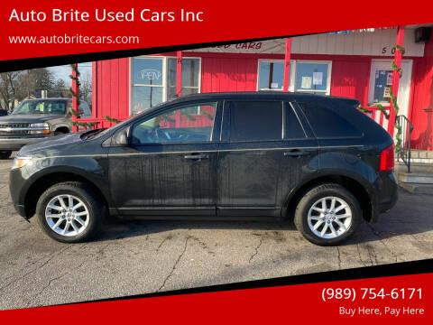 2013 Ford Edge for sale at Auto Brite Used Cars Inc in Saginaw MI