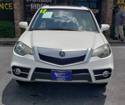 2012 Acura RDX for sale at East Carolina Auto Exchange in Greenville NC