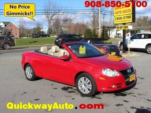 2009 Volkswagen Eos for sale at Quickway Auto Sales in Hackettstown NJ