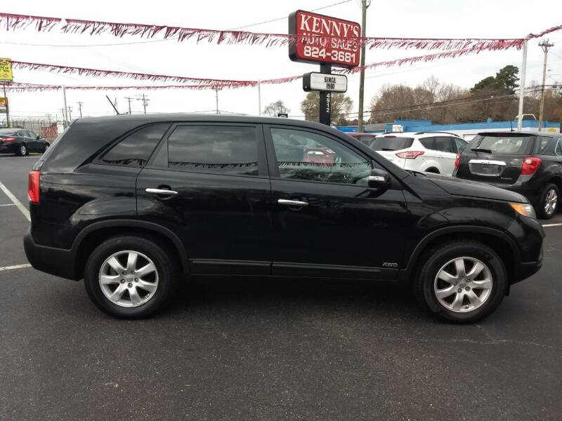 2013 Kia Sorento for sale at Kenny's Auto Sales Inc. in Lowell NC
