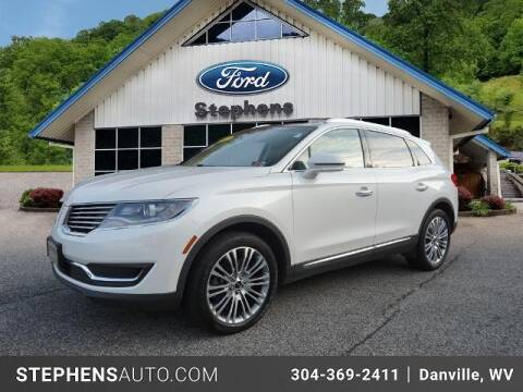 2017 Lincoln MKX for sale at Stephens Auto Center of Beckley in Beckley WV