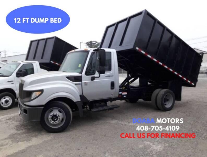 2014 International TerraStar for sale at DOABA Motors - Dump Truck in San Jose CA