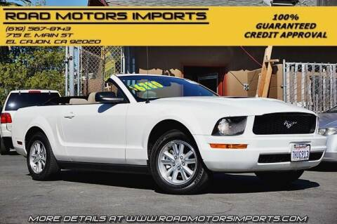 2007 Ford Mustang for sale at Road Motors Imports in El Cajon CA
