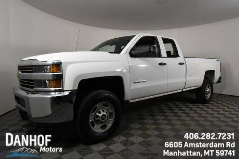 2015 Chevrolet Silverado 2500HD for sale at Danhof Motors in Manhattan MT