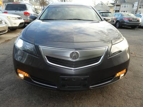 2012 Acura TL for sale at Wheels and Deals in Springfield MA