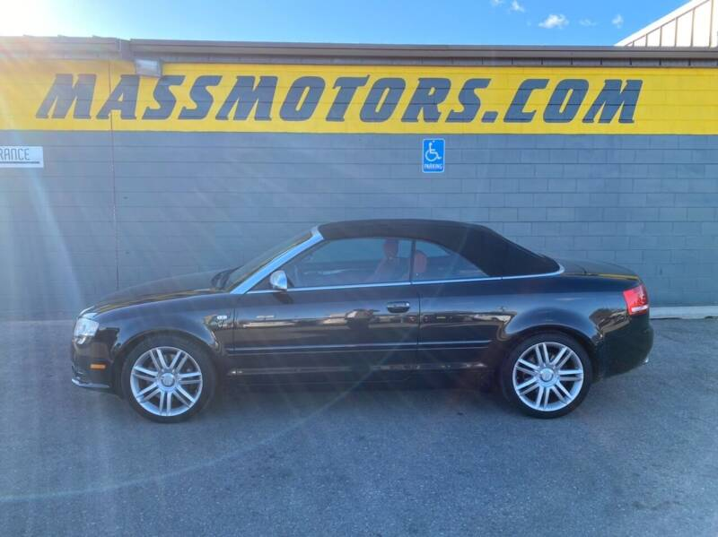 2007 Audi S4 for sale at M.A.S.S. Motors - Fairview in Boise ID