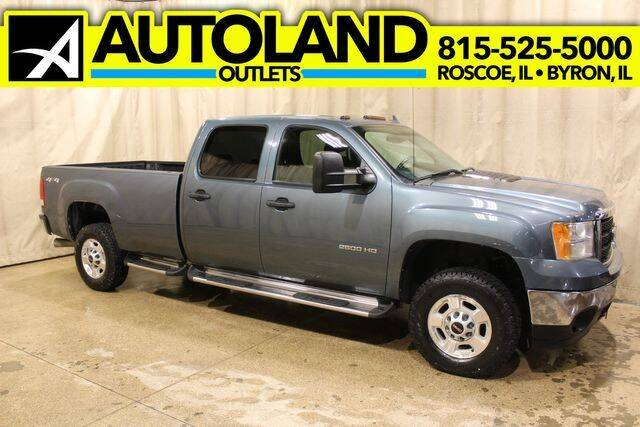 2011 GMC Sierra 2500HD for sale at AutoLand Outlets Inc in Roscoe IL