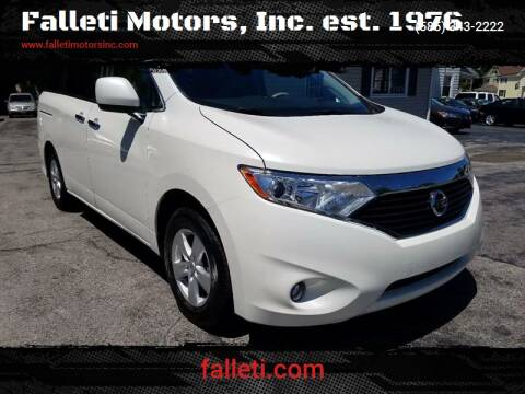 2017 Nissan Quest for sale at Falleti Motors, Inc.  est. 1976 in Batavia NY