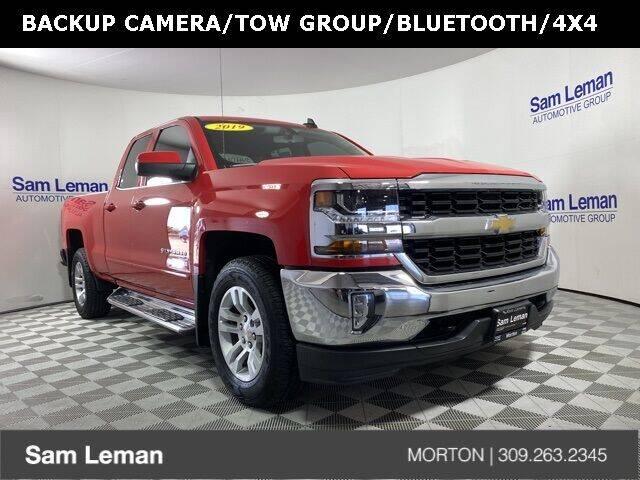 2019 Chevrolet Silverado 1500 LD for sale at Sam Leman CDJRF Morton in Morton IL