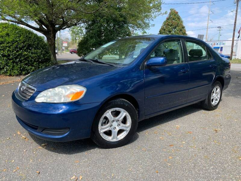 2007 Toyota Corolla for sale at Seaport Auto Sales in Wilmington NC