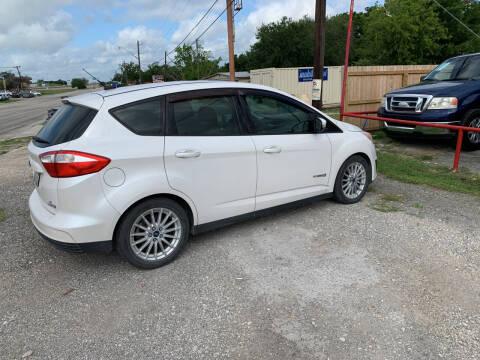 2013 Ford C-MAX Hybrid for sale at BULLSEYE MOTORS INC in New Braunfels TX