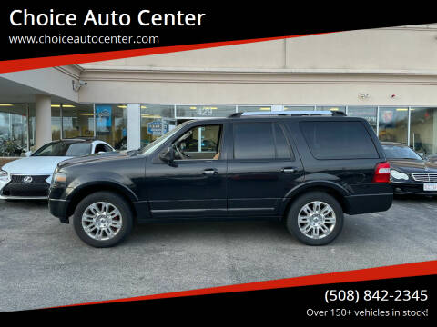 2011 Ford Expedition for sale at Choice Auto Center in Shrewsbury MA