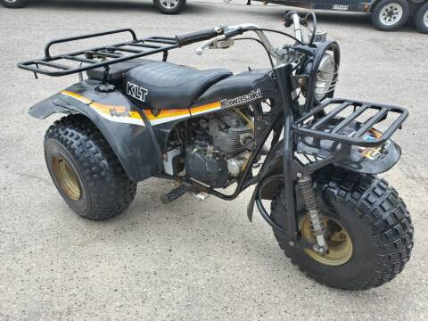 1982 Kawasaki KLT250 for sale at Bethel Auto Sales in Bethel ME