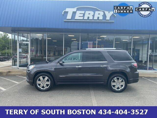 2015 GMC Acadia for sale at Terry of South Boston in South Boston VA