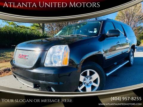 2008 GMC Yukon XL for sale at Atlanta United Motors in Buford GA