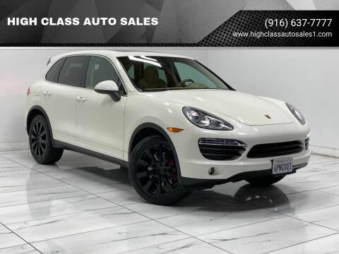 2011 Porsche Cayenne for sale at HIGH CLASS AUTO SALES in Rancho Cordova CA