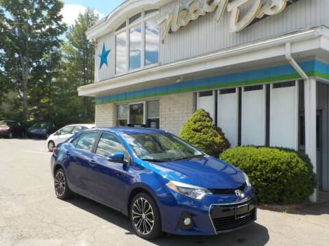 2015 Toyota Corolla for sale at Nicky D's in Easthampton MA