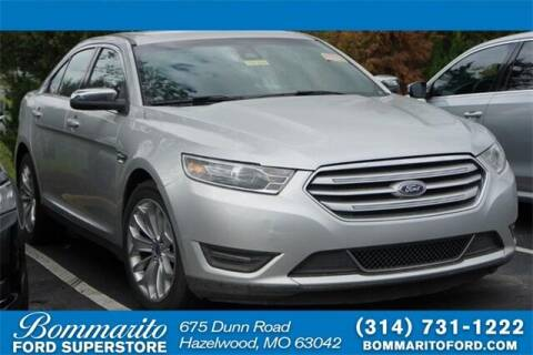 2019 Ford Taurus for sale at NICK FARACE AT BOMMARITO FORD in Hazelwood MO