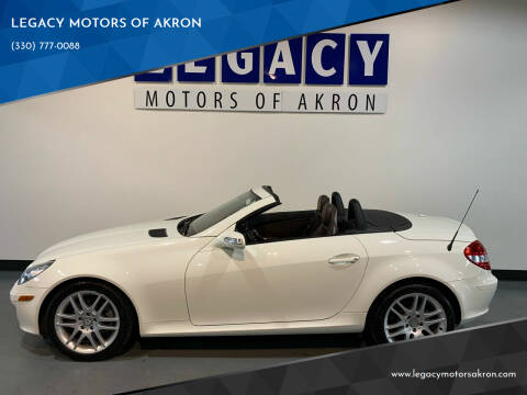 2007 Mercedes-Benz SLK for sale at LEGACY MOTORS OF AKRON in Akron OH