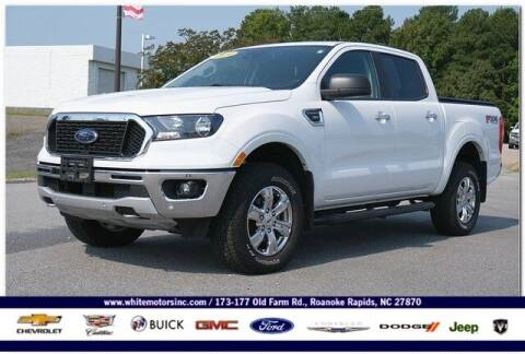 2019 Ford Ranger for sale at WHITE MOTORS INC in Roanoke Rapids NC