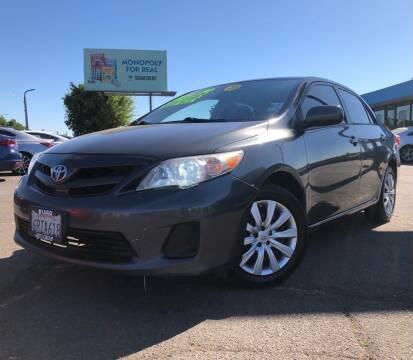 2012 Toyota Corolla for sale at LUGO AUTO GROUP in Sacramento CA