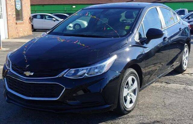2018 Chevrolet Cruze for sale at L&M Auto Import in Gastonia NC