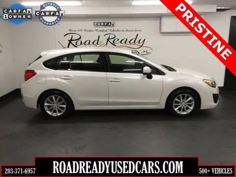 2014 Subaru Impreza for sale at Road Ready Used Cars in Ansonia CT