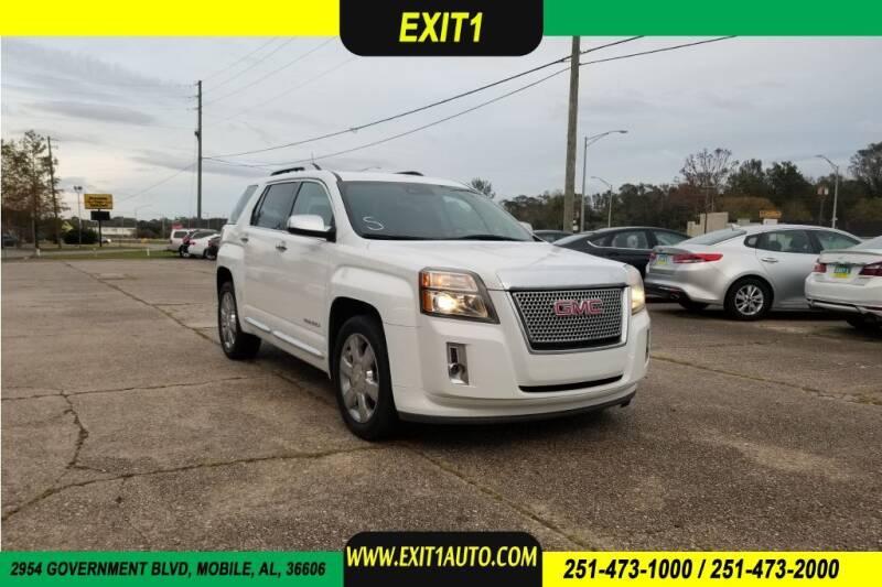 2013 GMC Terrain for sale at Exit 1 Auto in Mobile AL