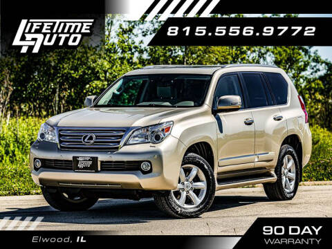 2010 Lexus GX 460 for sale at Lifetime Auto in Elwood IL