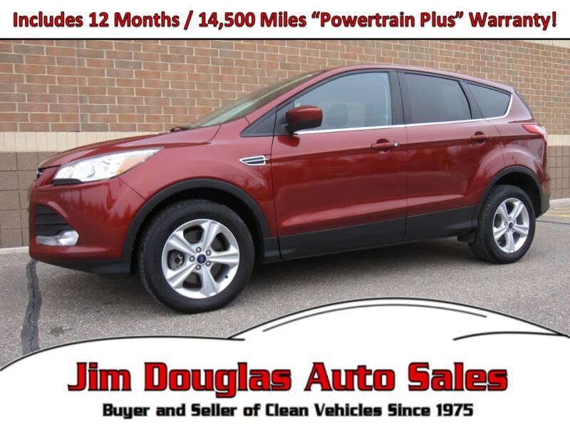 2016 Ford Escape for sale at Jim Douglas Auto Sales in Pontiac MI