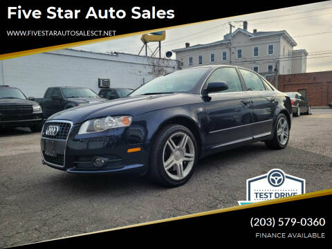 2008 Audi A4 for sale at Five Star Auto Sales in Bridgeport CT