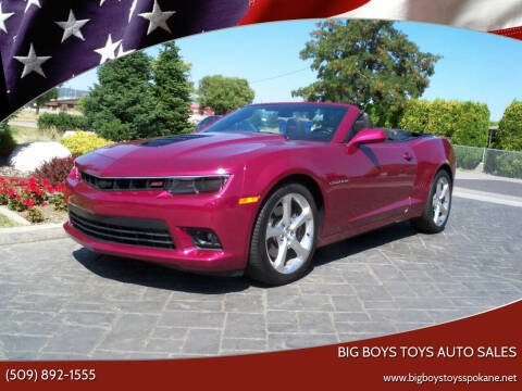 2014 Chevrolet Camaro for sale at Big Boys Toys Auto Sales in Spokane Valley WA