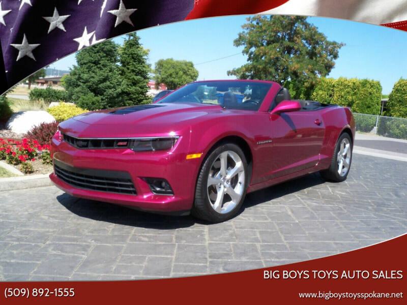 2014 Chevrolet Camaro for sale at Big Boys Toys Auto Sales in Spokane Valley WA