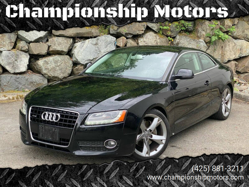 2008 Audi A5 for sale at Championship Motors in Redmond WA